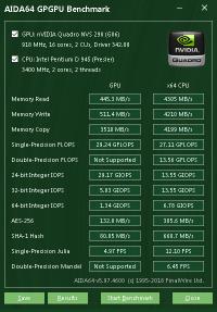Quadro NVS 290 GPGPU